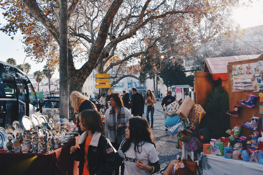 The best part about Christmas is pop-up Christmas markets in cities and towns all around