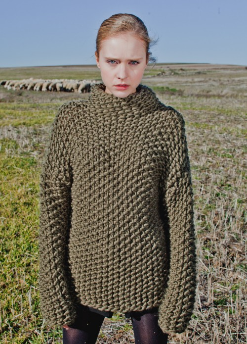 We Are Knitters - vertigo sweater kit