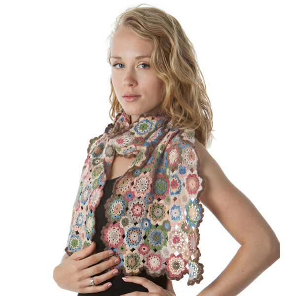 ArtYarns - kaleidoscope shawl kit