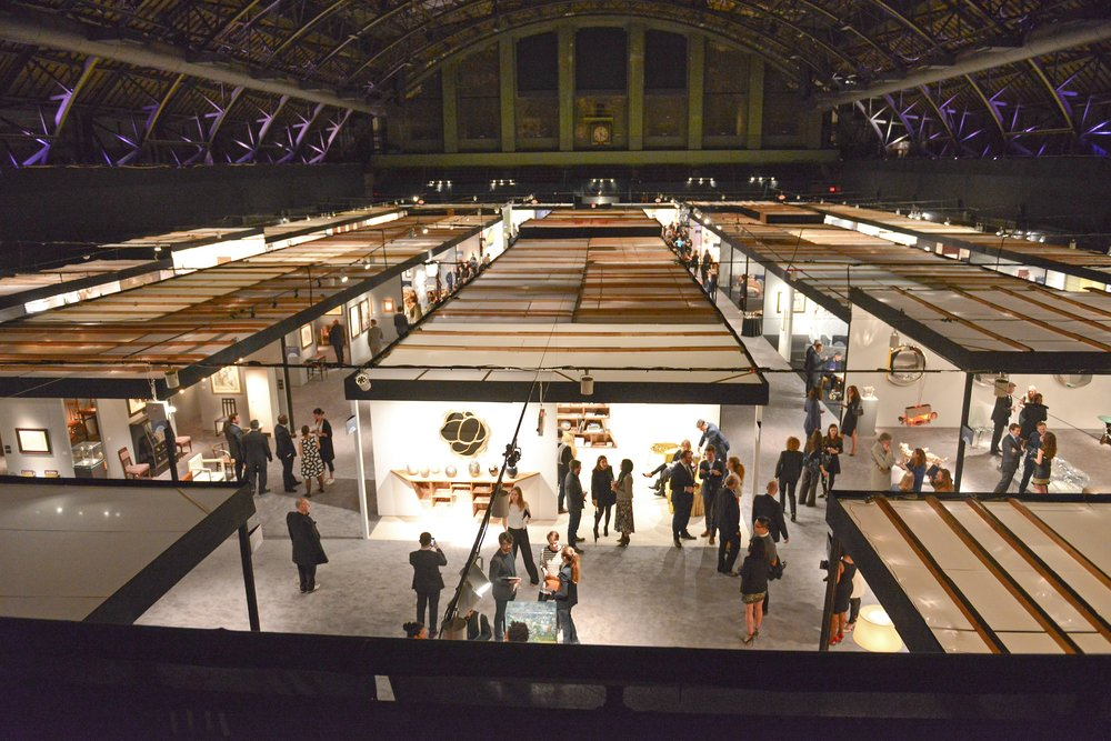 Opening night at Park Avenue Armory. Image courtesy of Architectural Digest.