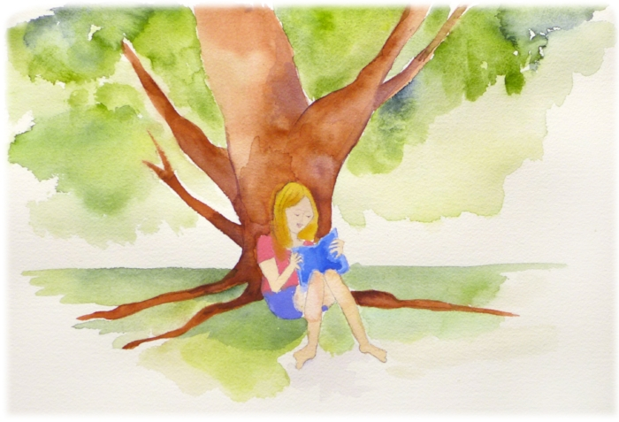 alice reading under oak tree.jpg