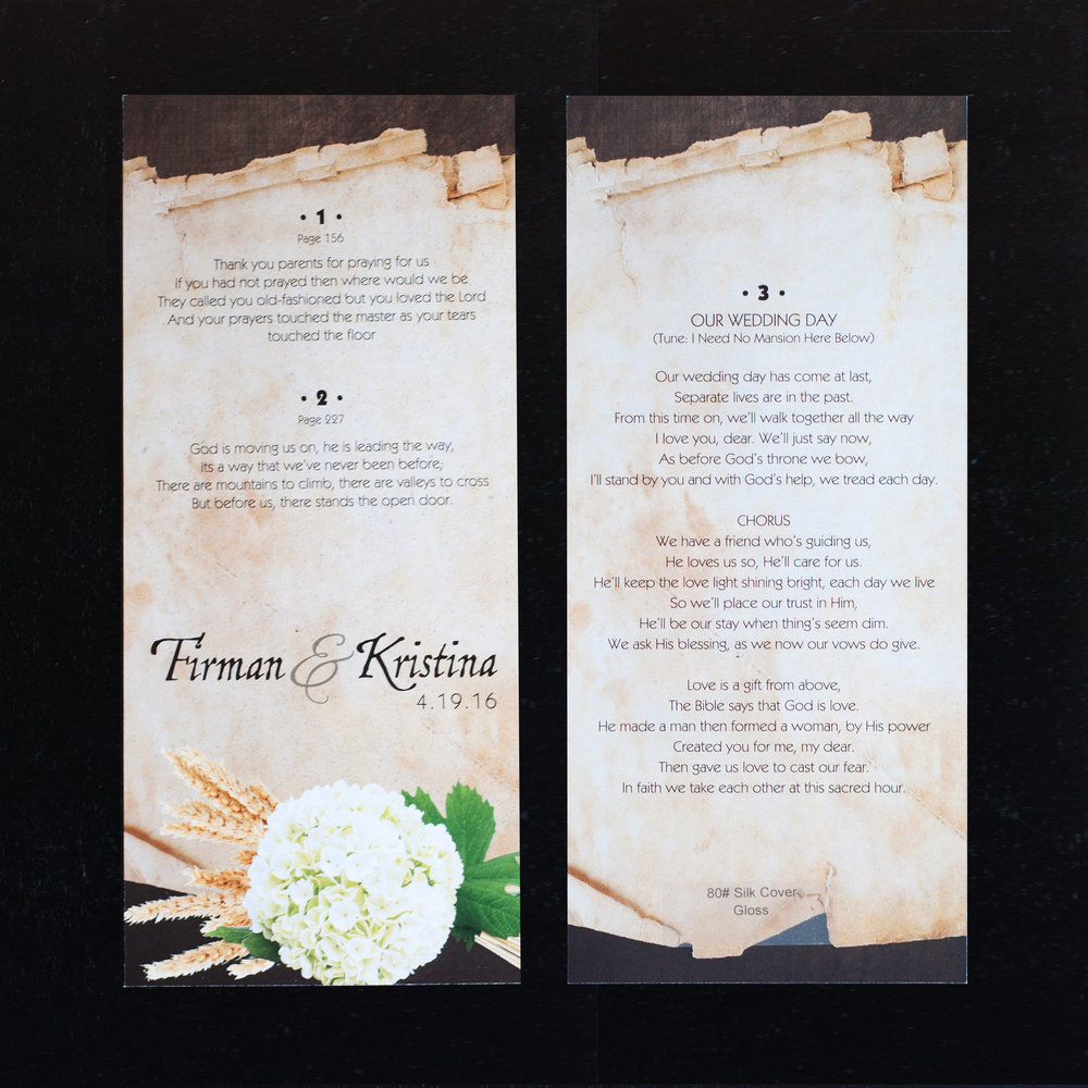 Firman & Kristina Wedding
