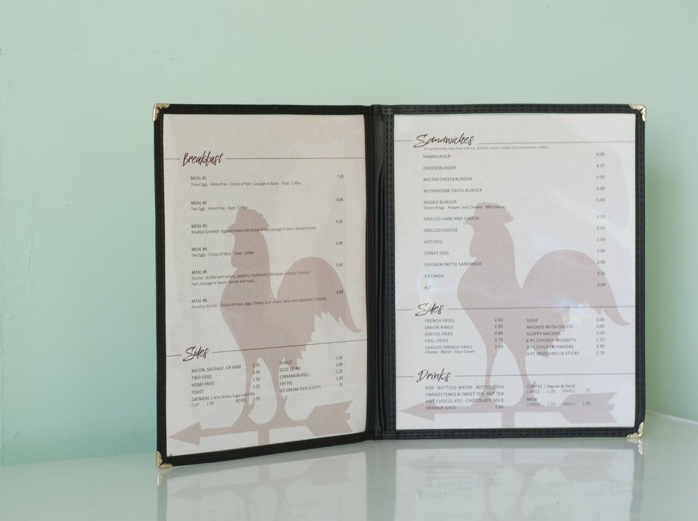 Menu Design Inside