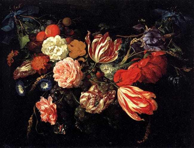 Festoon with Flowers and Fruit, Jan Davidsz. de Heem