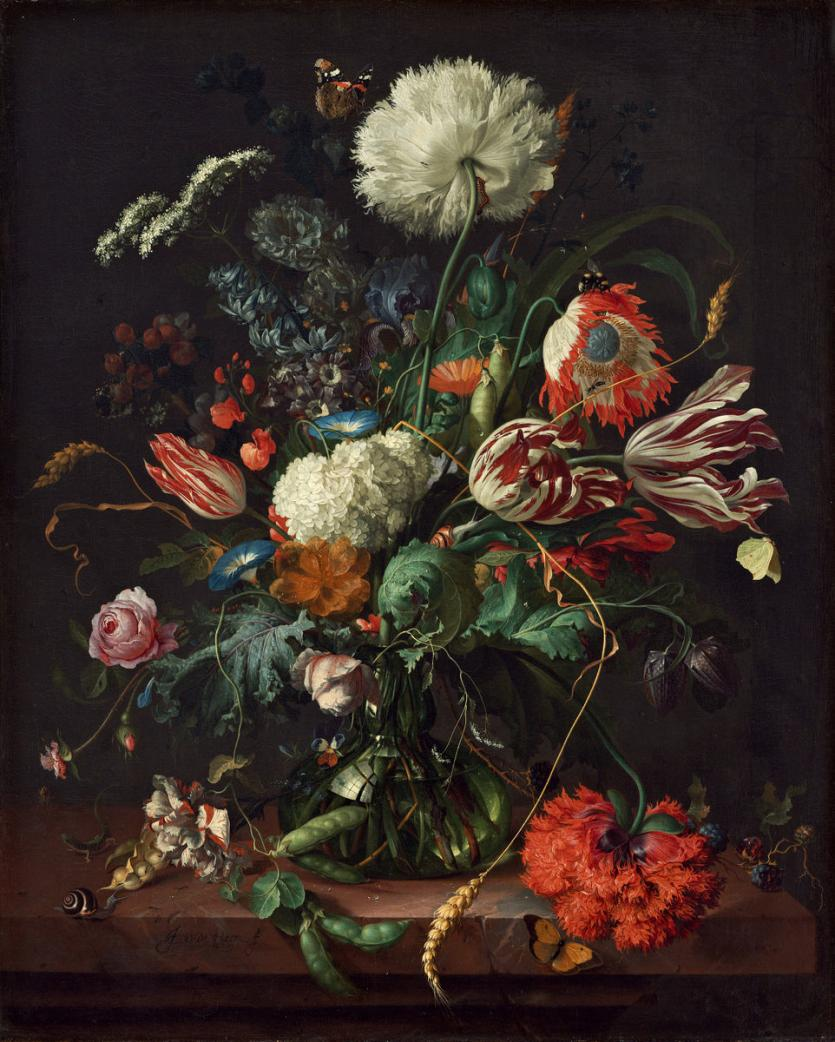 Flower still life/Vase of flowers, Jan Davidsz. de Heem