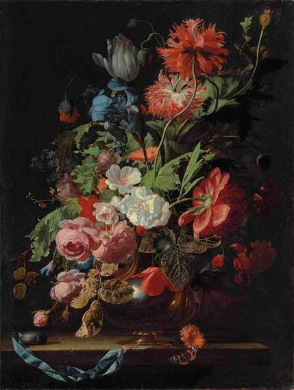 Flower still life, Simon Pietersz Verelst