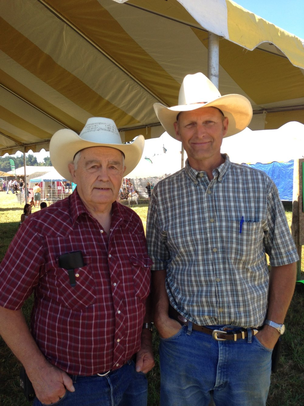 Marvin and Jim Anderson -