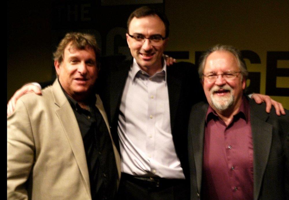 Dan Mendelow (former Principal, Sydney Symphony) and Pat Harbison, Indiana University)