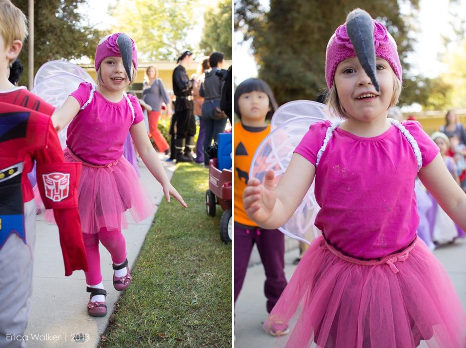 Halloween Ballerina Flamingo - Erica Faith Photography