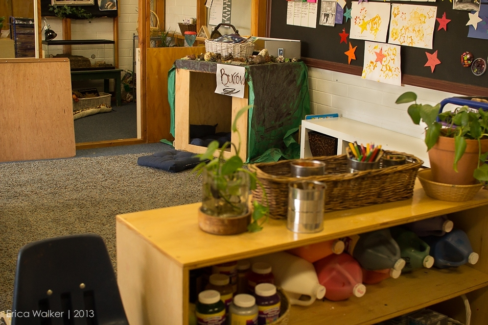 Preschool classroom - Erica Faith Photography