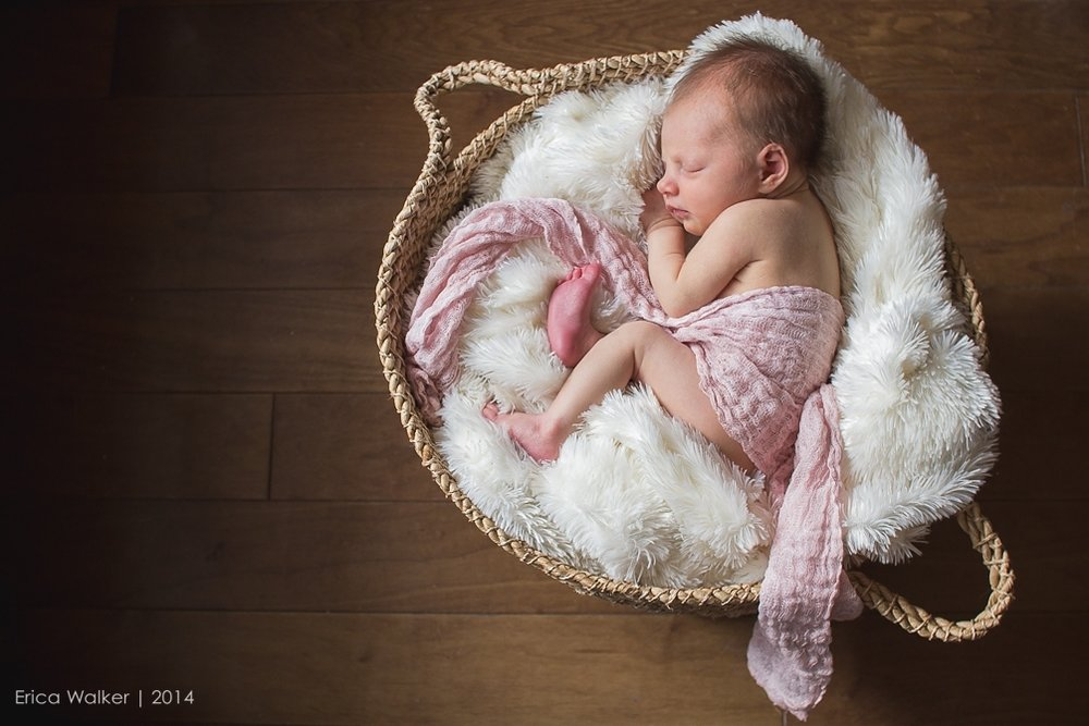 Marler Baby - Claremont Newborn Photographer - Erica Faith Photography