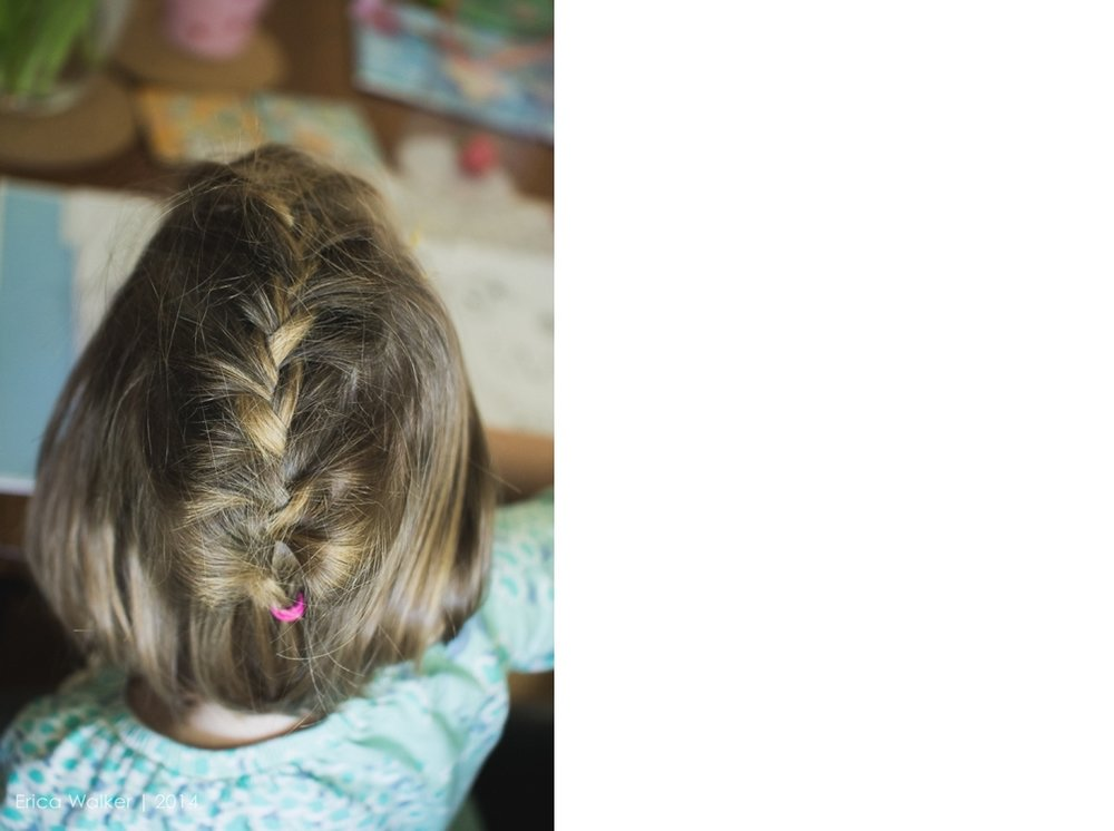 Diffused light and braids - Erica Faith Photography