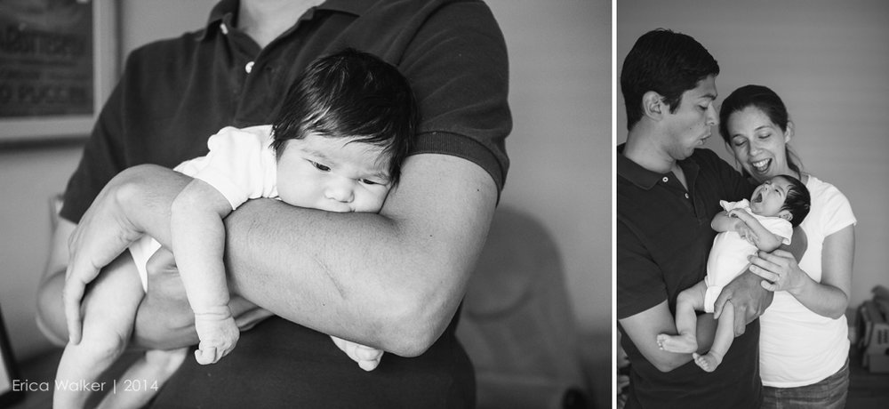 Barraza Newborn - Erica Faith Photography