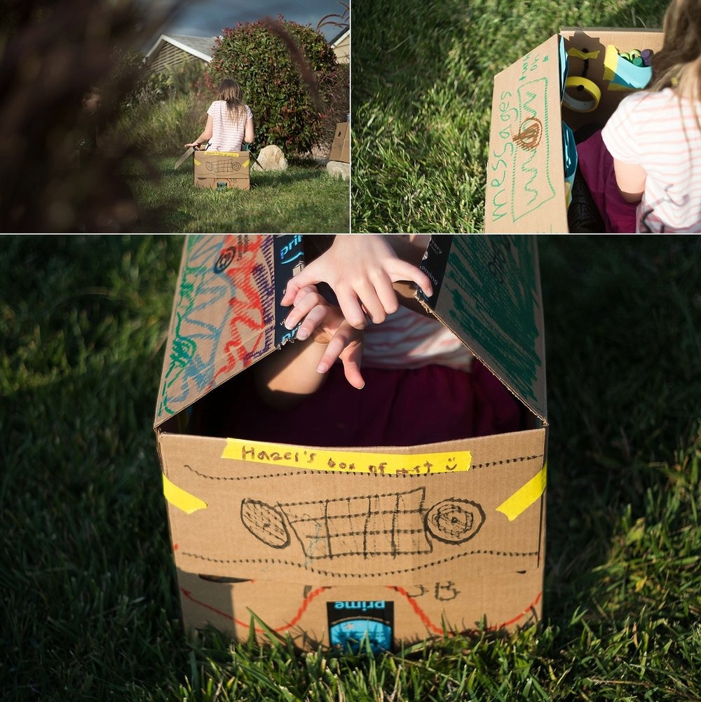 Erica Faith Walker in Claremont, CA captures documentary photos and detail shots of imaginative play among children