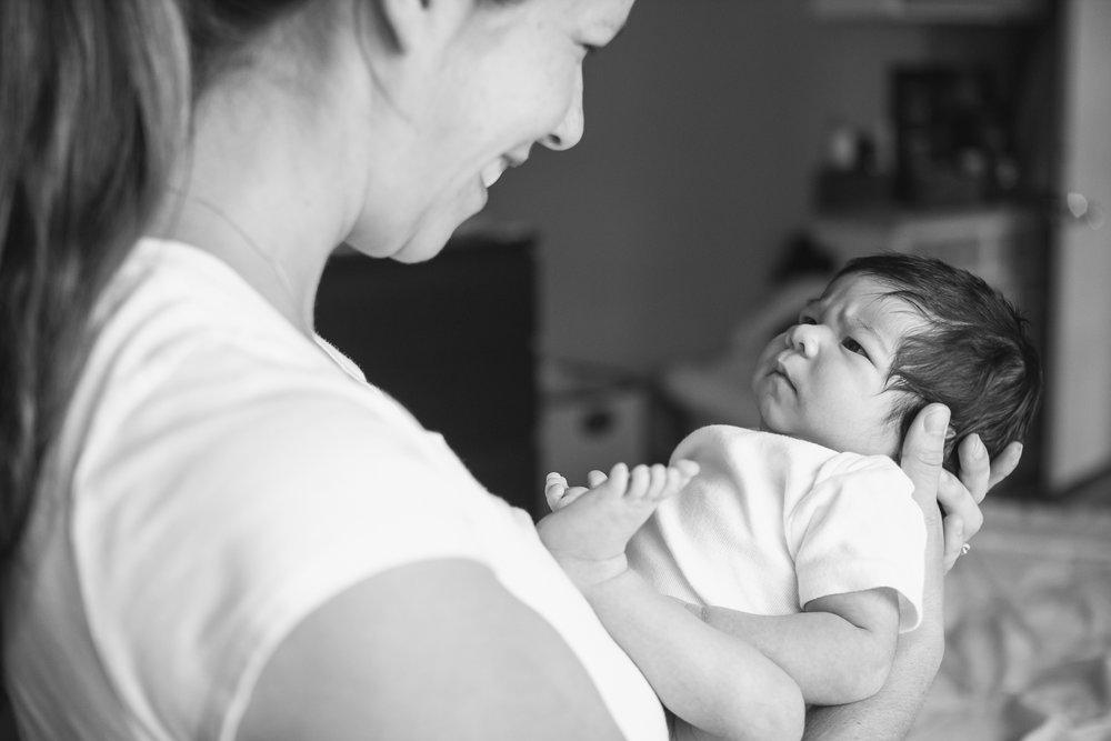 In-HomeNewborn Sessions -