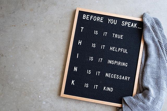 As we're headed into the weekend I thought my kids (and myself, to be honest) could use this as a reminder. ⠀⠀⠀⠀⠀⠀⠀⠀⠀ #letterboardquotes