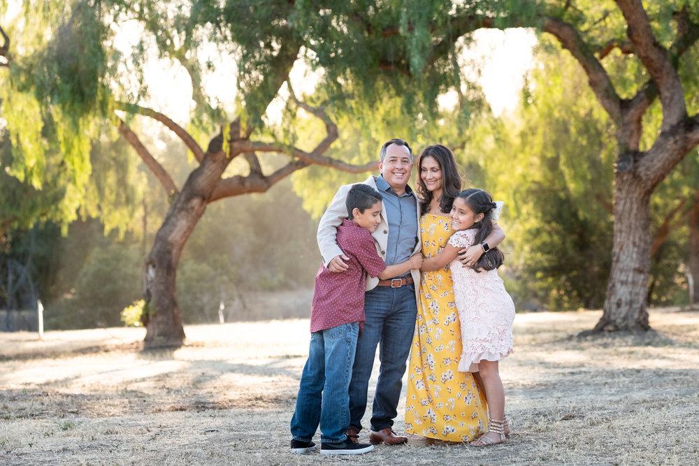 Family Outdoor Photos in San Dimas with Erica Faith Photography