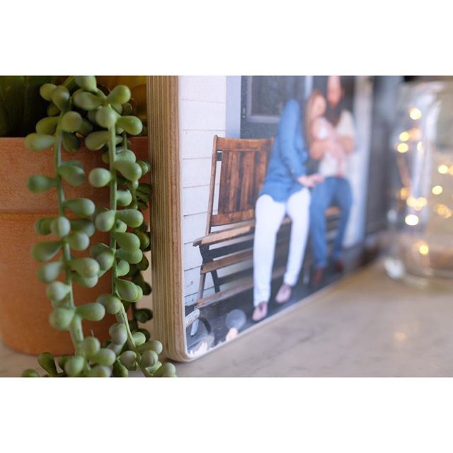 Can't you just imagine walking past this soft, touchable wood print every day? To see the people you love on the walls of your home just makes your heart grow.  #printmatters  #claremontphotographer  #lifestylephotographer #inhomenewbornphotographer