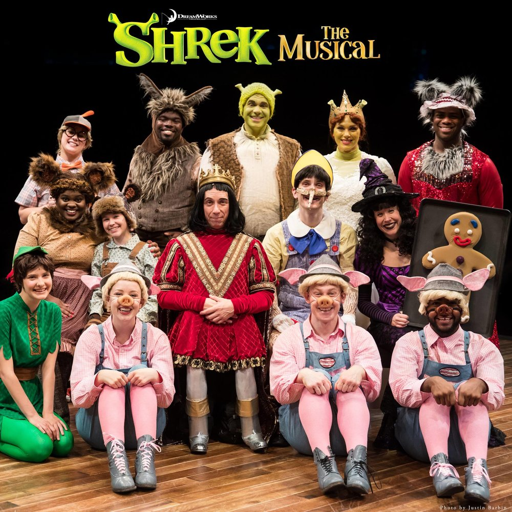 Shrek | Teen Fiona, Peter Pan | Marriott Theatre | d. Scott Weinstein