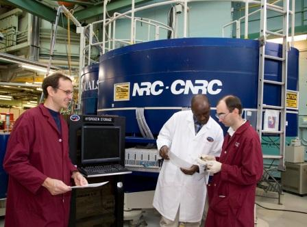 Canadian Neutron Beam Centre (CNBC) at the National Research Universal Reactor (NRU).