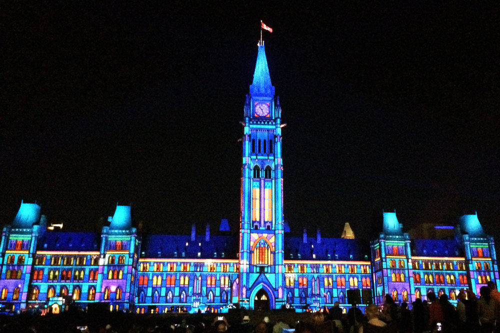 northern lights on parliament.jpg
