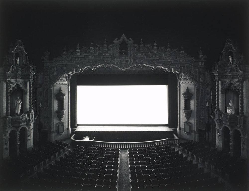 HIROSHI SUGIMOTO,  Cinema Odeon , Firenze , 2013