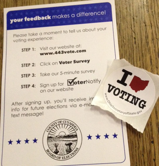 homeless voting — Cleveland Homeless Blog — Northeast Ohio Coalition