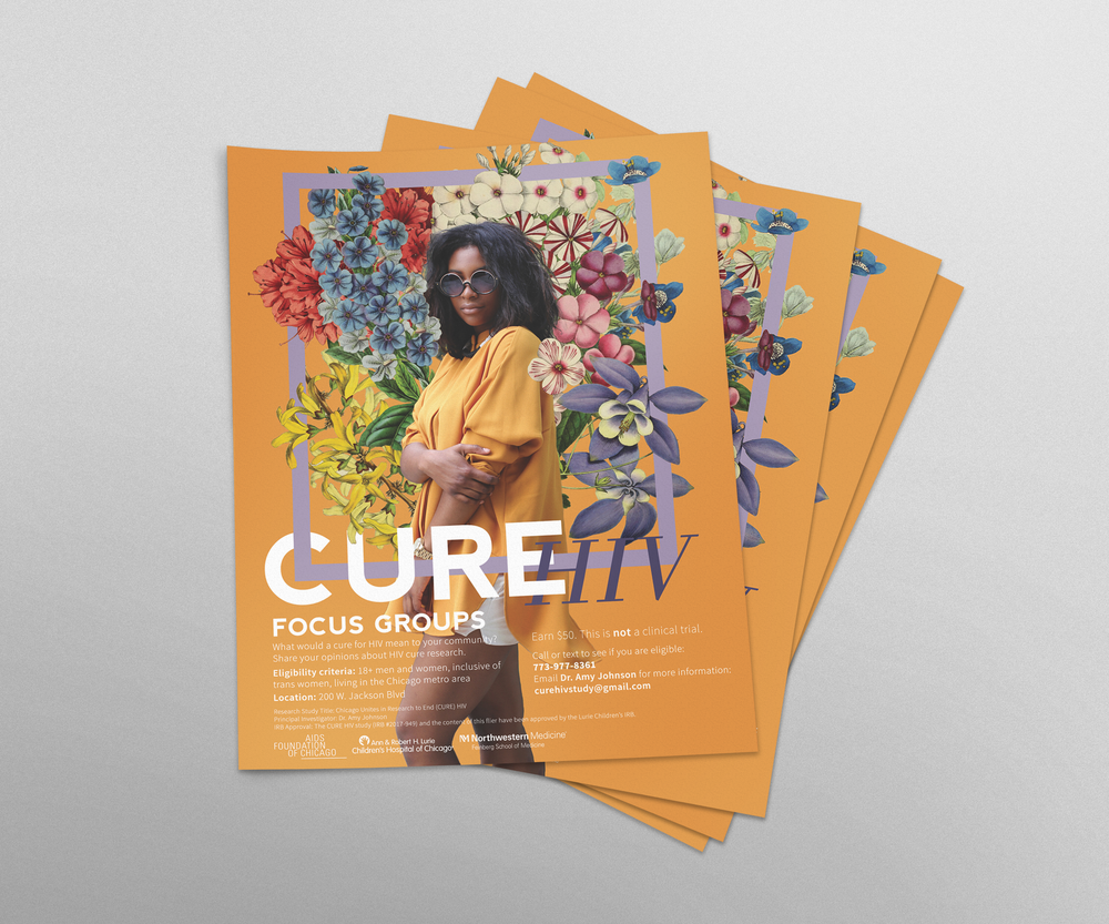 CURE HIV Black Woman Flyer.png