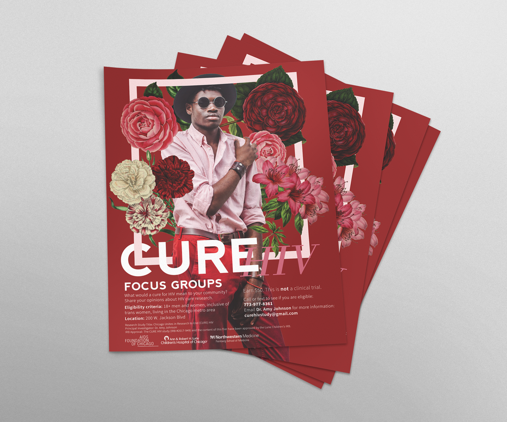 CURE HIV Black Man Flyer.png