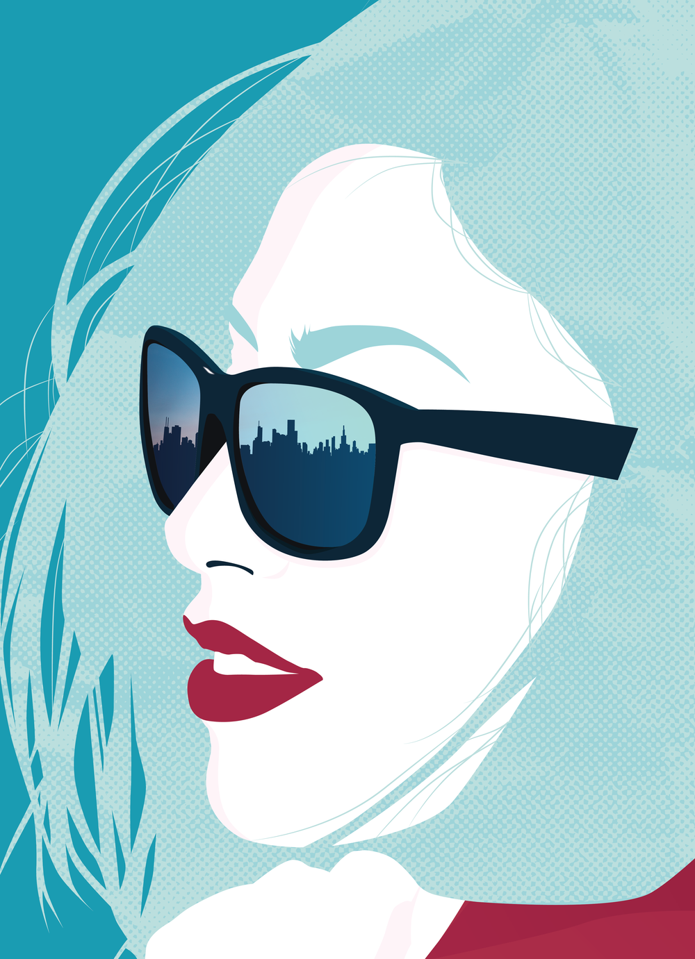 Woman in Sunglasses Close Up.png