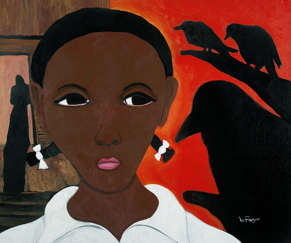 crows  $4800.00  36 x 48 2011