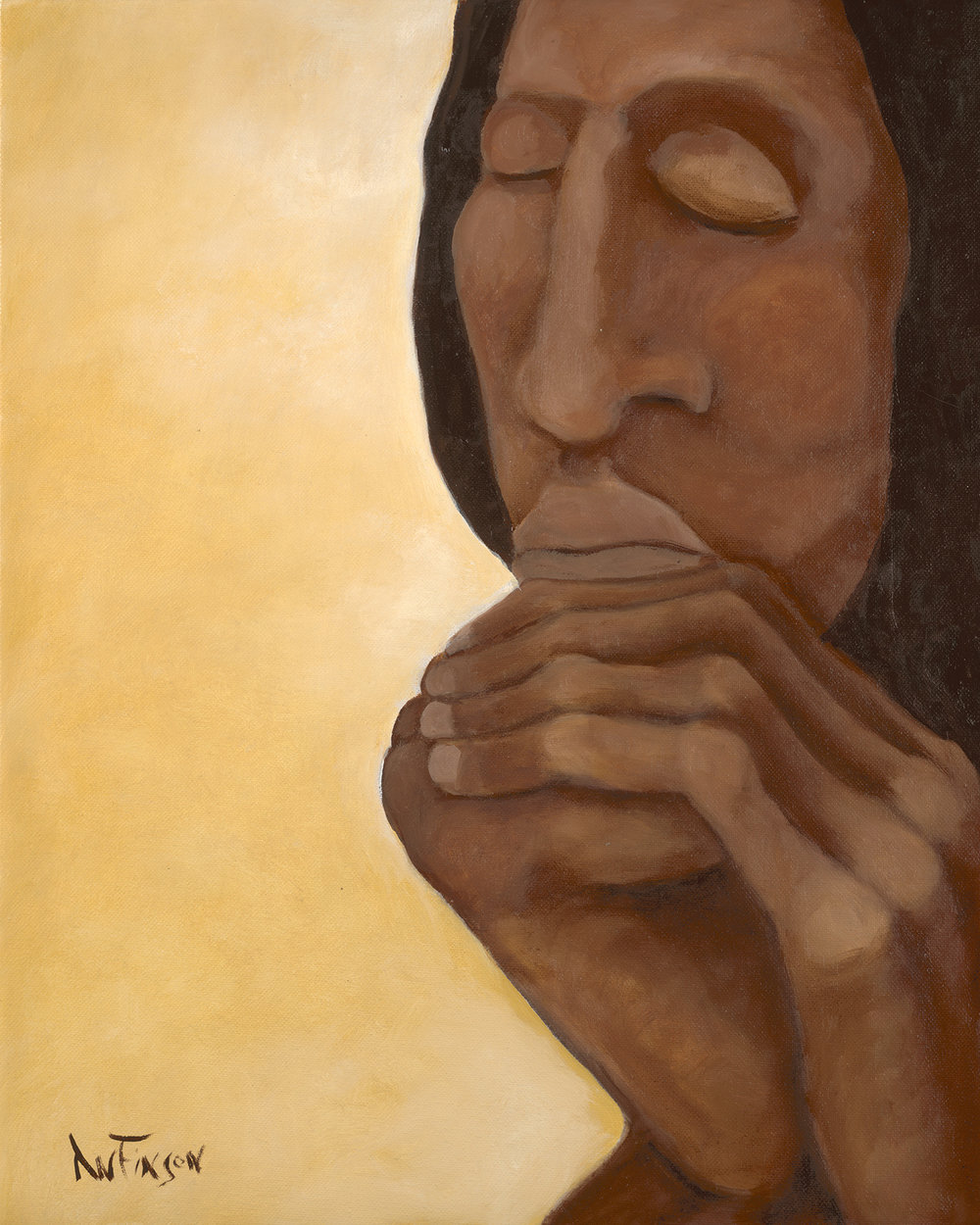 intercession  sold 20 x 16 014