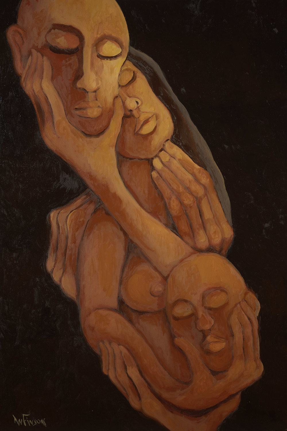 ensconced  $3600.00  36 x 24 2014