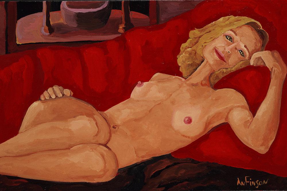reclining  $3000.00  24 x 36 2011