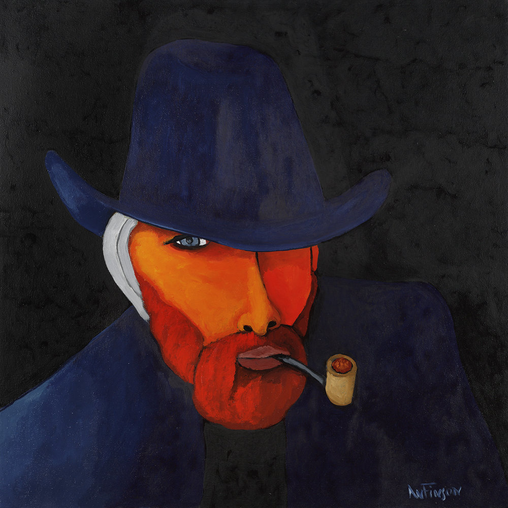 van gogh was a cowboy  sold 30 x 30 2010