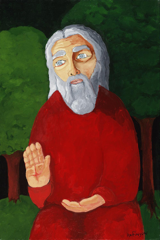 wisdom  sold 30 x 24 2007