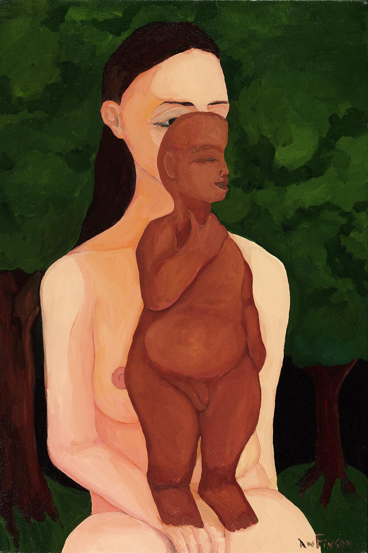 buddha baby  sold 30 x 24 2007
