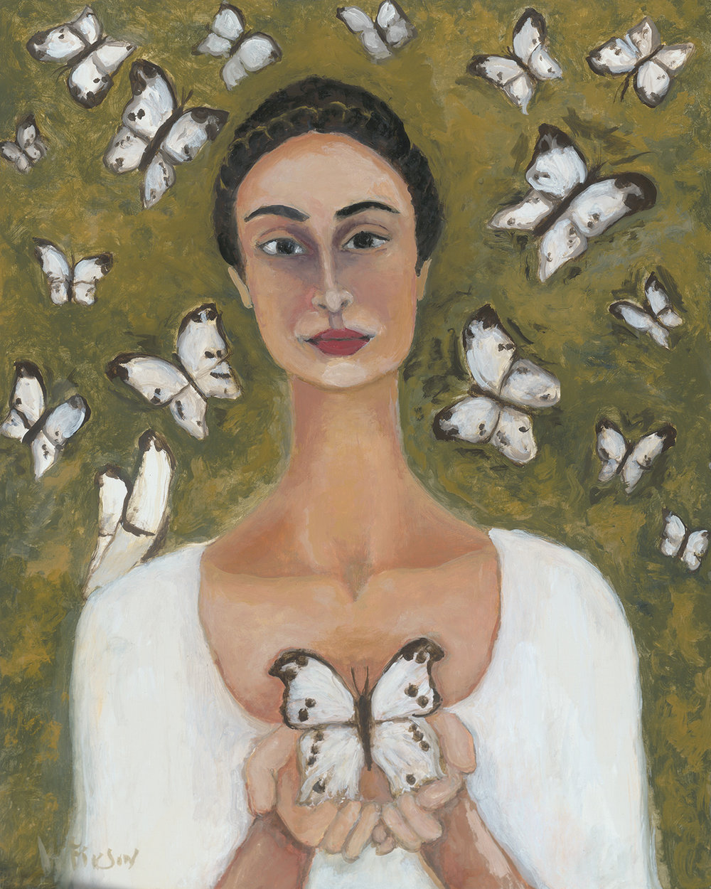 mother of butterflies  sold 30 x 24 2014