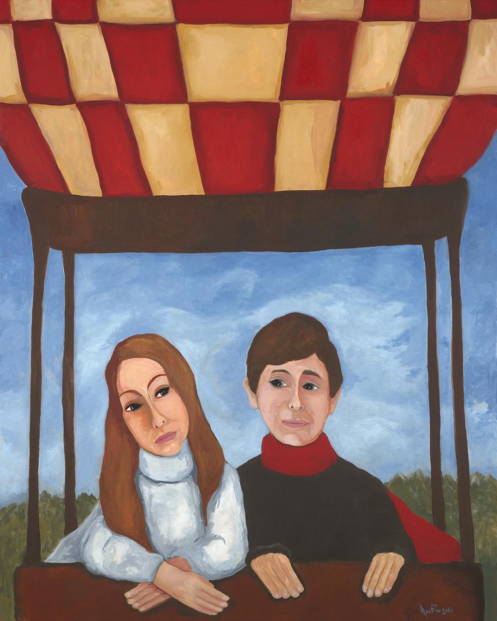 portrait for Jim & Lynn2014 -