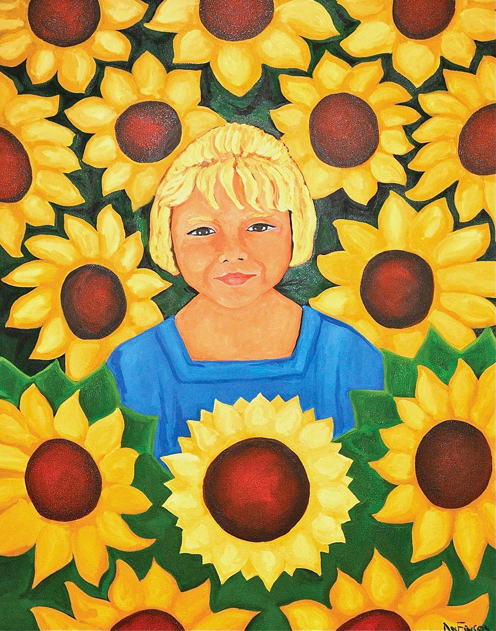 Sunflower Girl2008 -Hormel Institute -