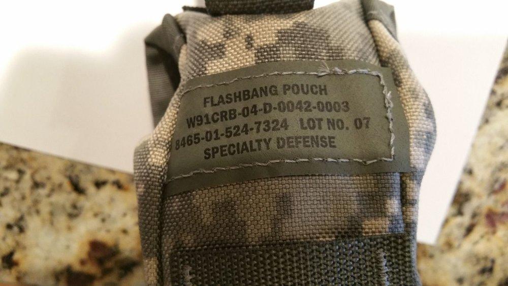 New Usgi Molle Flash Bang Grenade Pouch Bonus Offer James Surplus