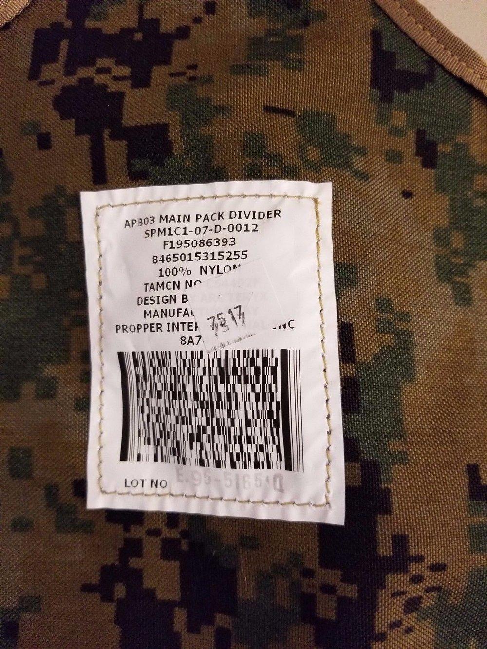 303ed217f9 USMC Woodland MARPAT ILBE Rucksack Backpack — James Surplus