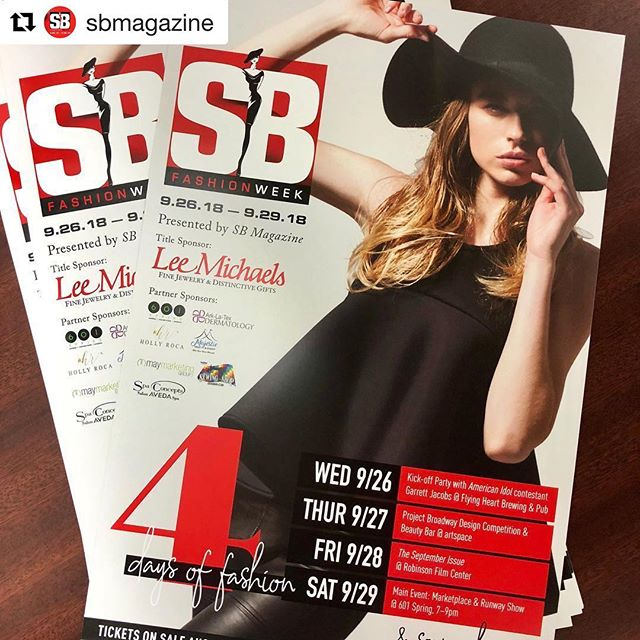 #Repost @sbmagazine with @get_repost ・・・ Posters for #sbfashionweek2018 are going out! 💋💋💋 Big thanks to our title sponsor @leemichaelsjewelry and our partner sponsors @601spring @arklatexdermatology @holly_roca_realtor Majestic Tent & Event @maymktg @the_sewingshop @spa_concepts_aveda. . Can't wait for y'all to see all this gorgeousness in September! . . . . #ig #igdaily #insta #shreveport #bossier #louisiana #fashion #beauty #runway #showtime #design #competition #projectbroadway #tearoommodeling #601spring