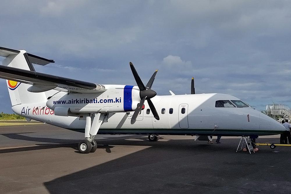 MSN 388 - DHC-8-106 C-FRXH Air Kiribati, Tarawa 29-Oct-2017 Air Kiribati Photo