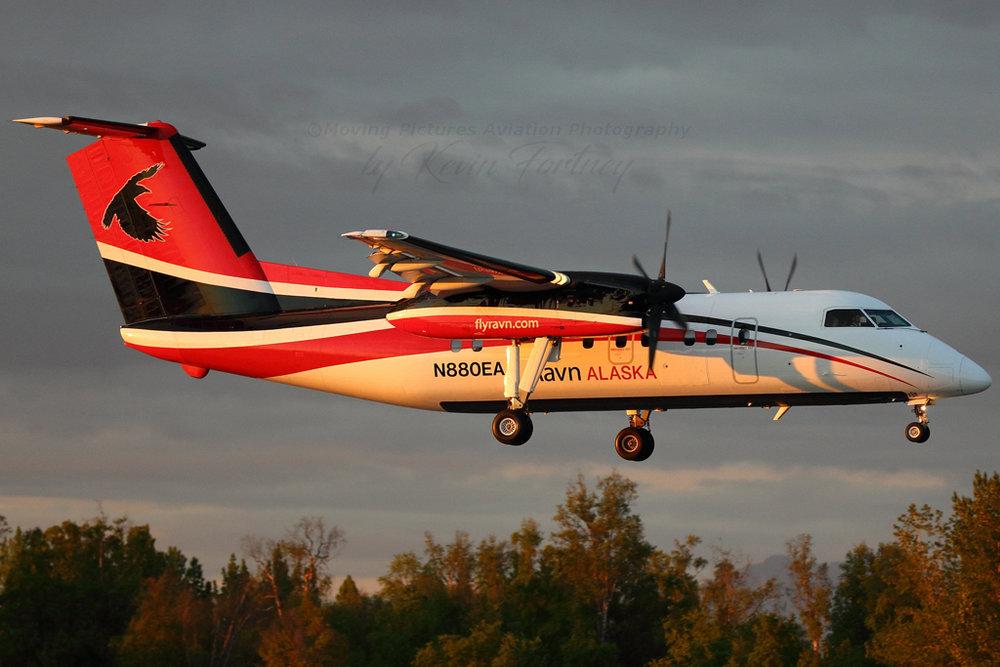 N880EA DHC-8-102 MSN 392  Kevin Fortney Photo © Anchorage, AK 03-Jun-2017