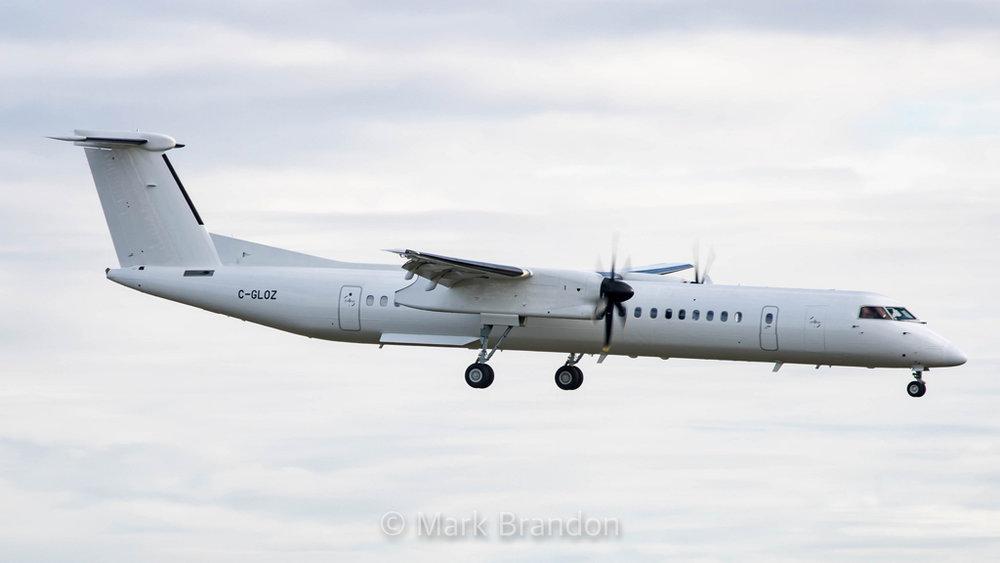 C-GLOZ DHC-8-402 MSN 4034  Mark Brandon Photo © Montréal, QC 12-Nov-2017