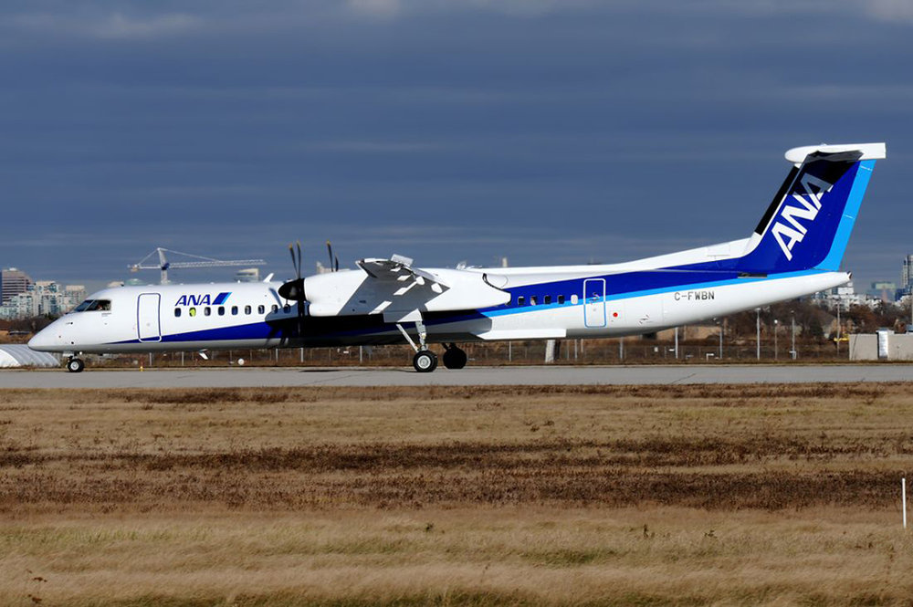 MSN 4571 - DHC-8-402 C-FWBN  Downsview, ON 29-Nov-2017 Nigel Harris Photo
