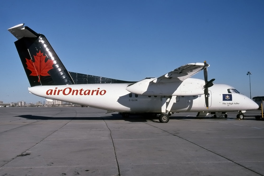 Michael L. Baker Photo © Toronto-Pearson, ON 13-Oct-1996  from the Michael J. Ody Collection