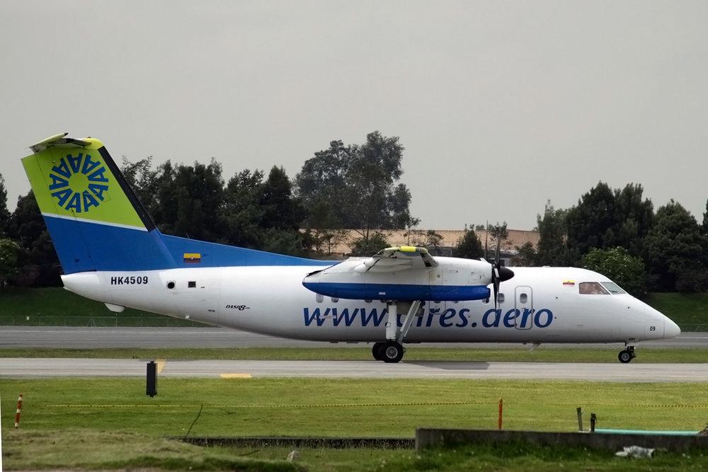 David Osborn/Aeroprints Photo © Bogota 04-Jul-2012  via  Flickr