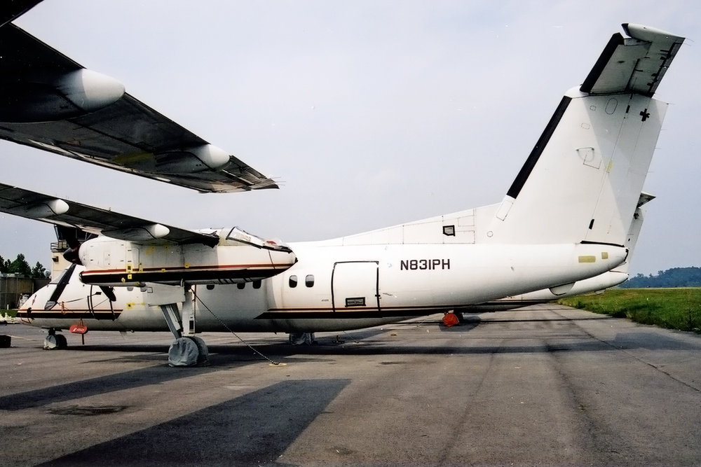 Kenneth I. Swartz/Aeromedia Communications Photo © Clarksburg, WV Aug-2002